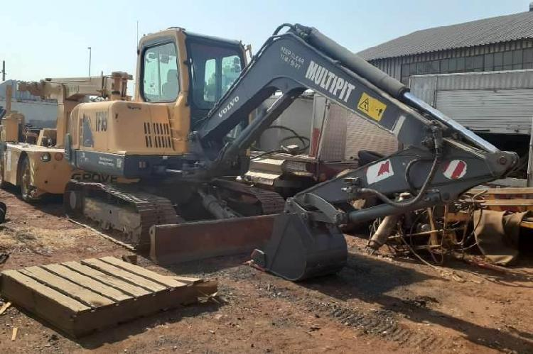 Volvo EC55B 5 Ton Excavator 0