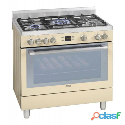 DEFY 5 BURNER STAINLESS STEEL GAS ELECTRIC STOVE   DGS162 0