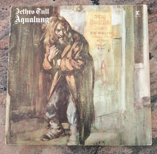 JETHRO TULL Aqualung - Gatefold sleeve (Very Good/VG) MS 0