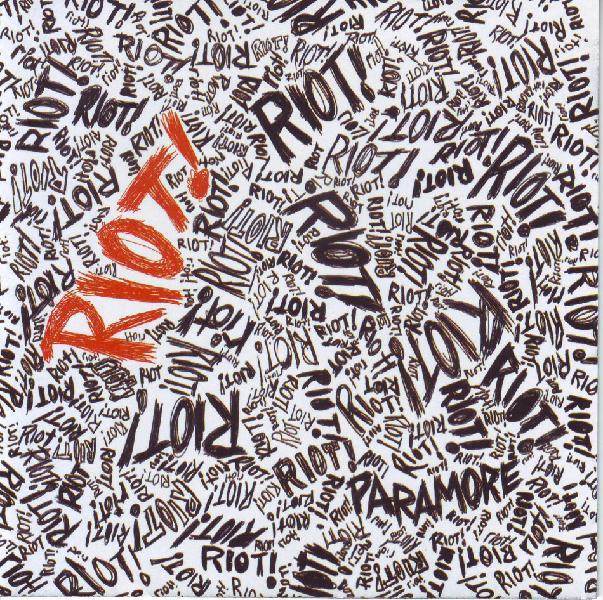 PARAMORE - Riot! (CD) ATCD 10238 (FREE BULK SHIPPING) 0