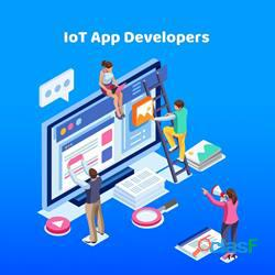 Hire our IoT app developers to improve your business processes 0