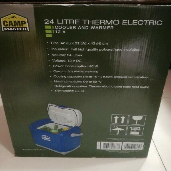 Camp Master 24.L Thermo Electric Cooler & Warmer 0