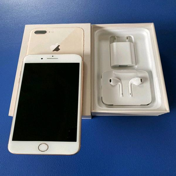 Iphone 8 Plus Gold 256 Gb With Box For Sale 0