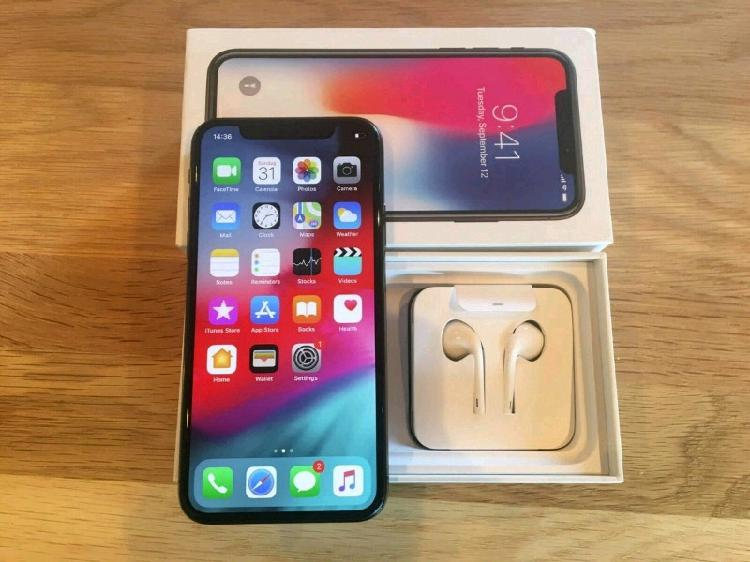 Iphone X 64 Gb With Box For Sale Space Grey 0