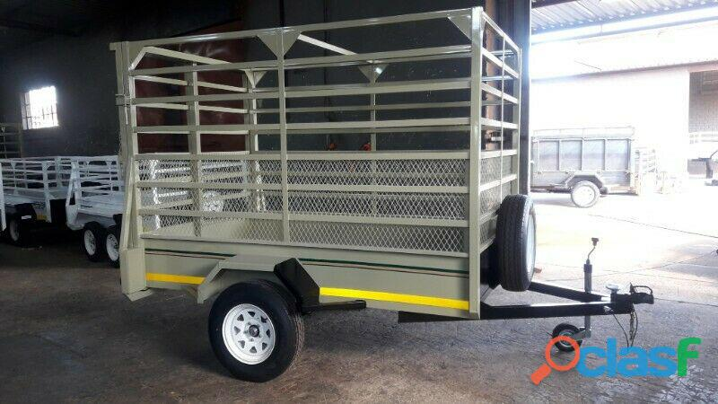 Quality Galvanized Trailers All Sizes And Capacities.