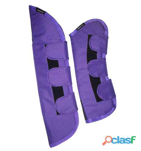 Horse travel boots – purple