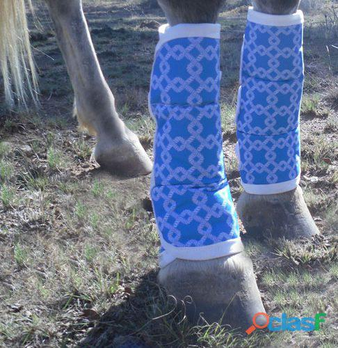 Horse trucking boots