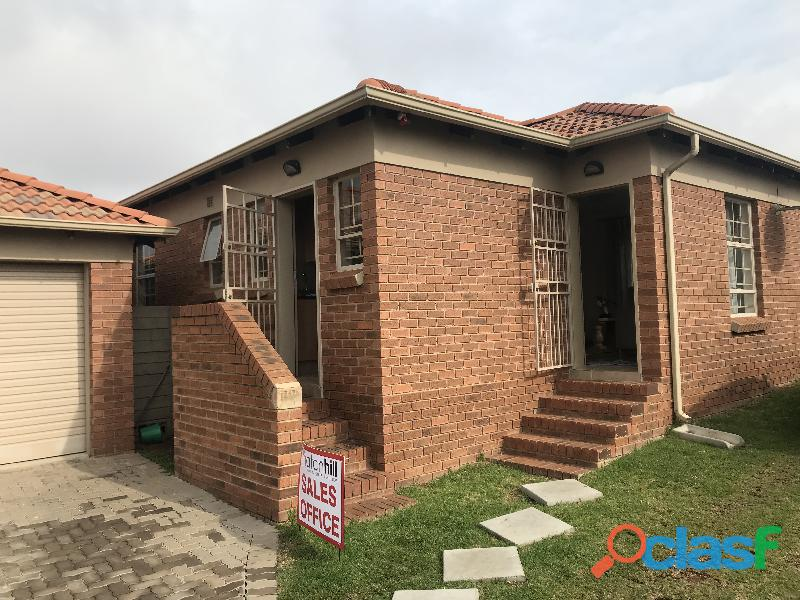 Affordable housing in thatch hill estate, centurion area
