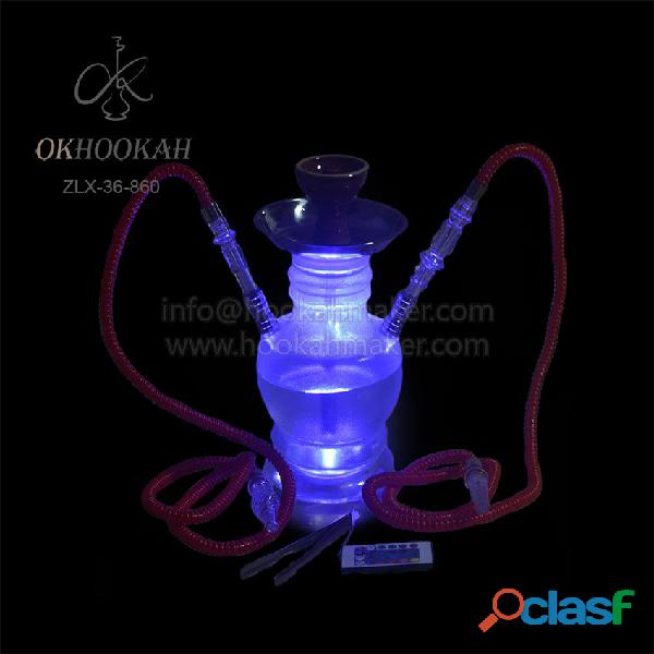 Cheap price for hubbly bubbly with double hoses