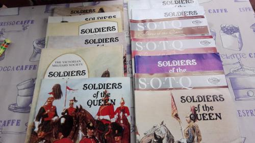 13 x soldiers of the queen the victorian military society