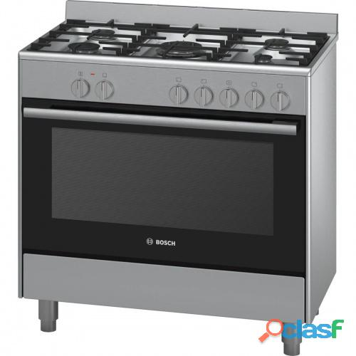 Bosch   90cm Gas Cooker Silver   Model: HSG734357Z