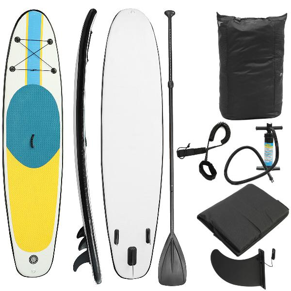 10ft non-slip inflatable surfing board soft surfboard stand
