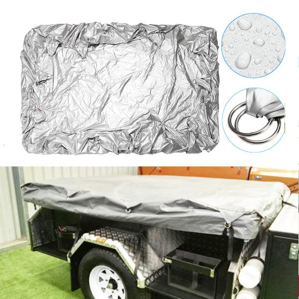 225x170cmx35cm camping trailer tent waterproof cover anti-uv