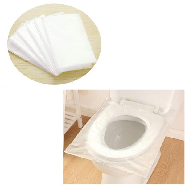 6pcs portable waterproof maternity disposable paper toilet