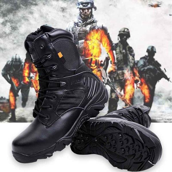 Army men commando combat desert outdoor hiking boots landing