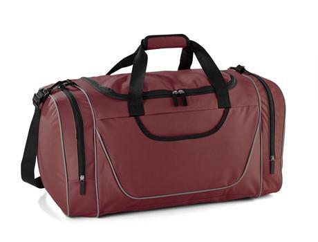 Championship sports bag - maroon