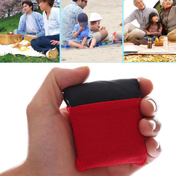 Ipree 150x110cm pocket mat camping picnic portable