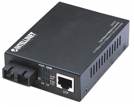 Intellinet fast ethernet media converter