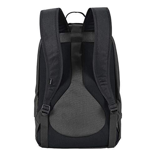 Nixon men's traps backpack black/dark olive/volt one size