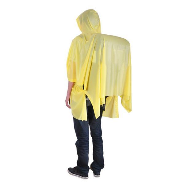 Portable outdooors rain coat hiking backpack camping