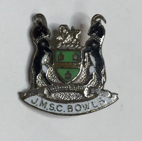 J.m.s.c. bowls=badge=club=sport=bowling=south africa