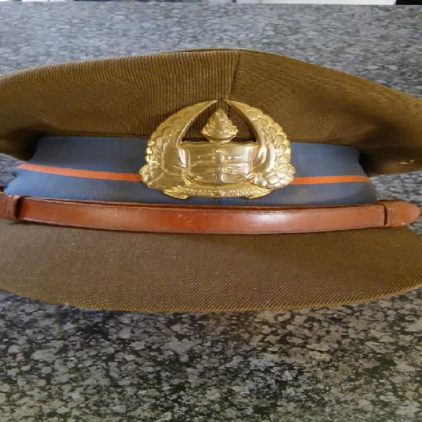 Old vintage south african army gymnasium officers hat