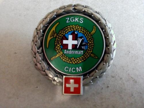 Swiss army zgks /cicm (mountain combat training school,)