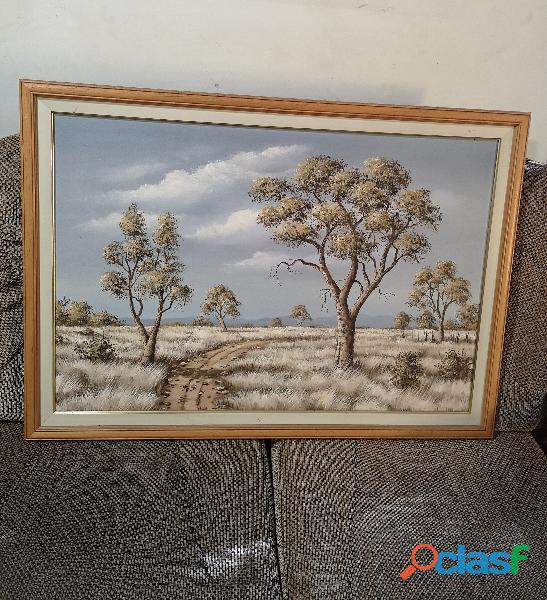 Beautiful bushveld painting