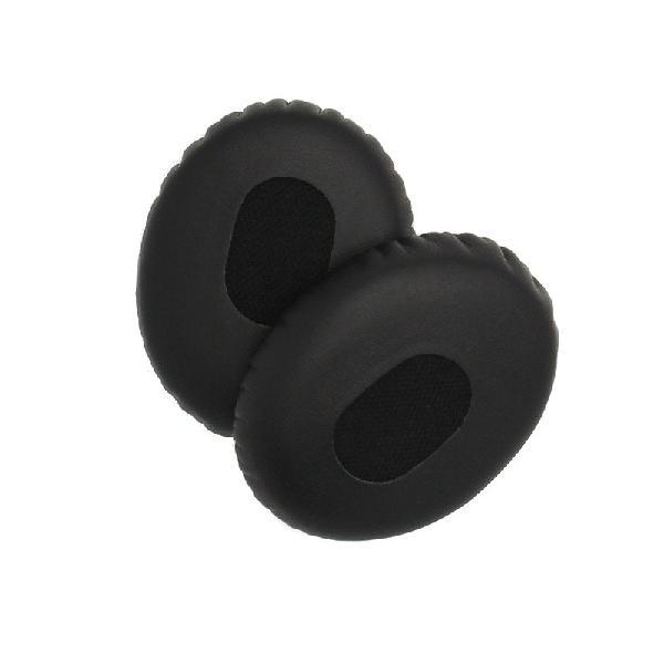 1 Pair Black Replacement On-ear Foam Earmuffs Pads Cushion