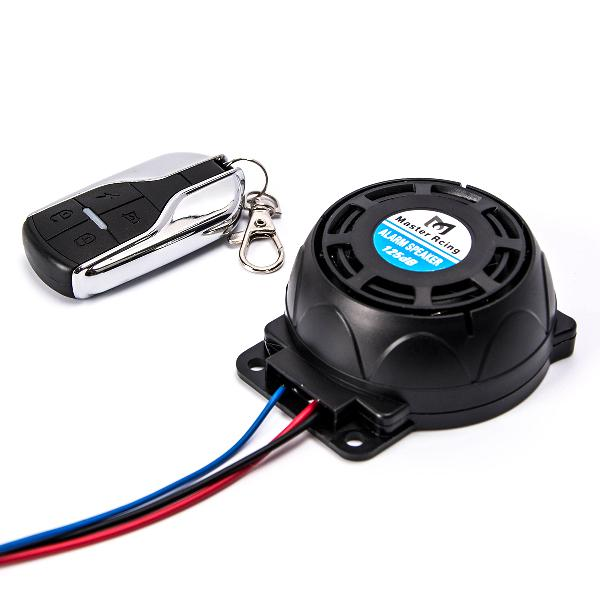 12v 125db motorcycle anti theft security alarm systems