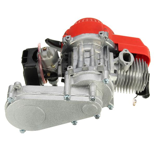 49cc 2 stroke engine with air filter carb t8f 14t gear box