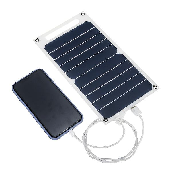 6w 6v 260x140x2.5mm s0506 portable semi-flexible solar panel