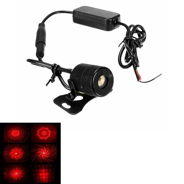 Anti-rear-end laser fog light brake led chassis lights for