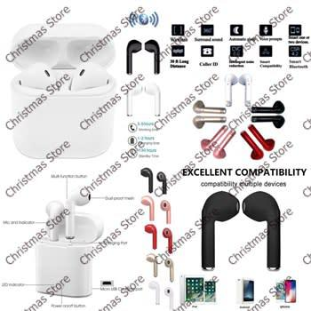 Hbq i7 tws twins wireless earbuds mini bluetooth headset