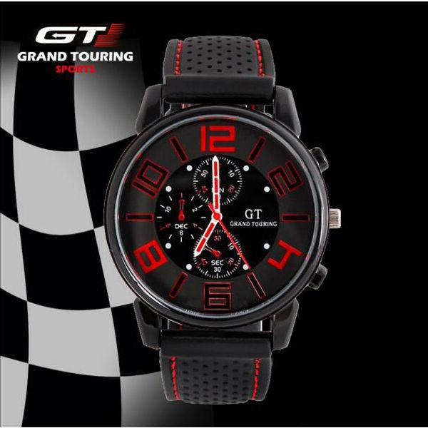 Local stock* grand touring gt men sport quartz watch
