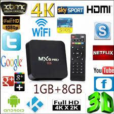 MXQ-PRO 4K TV Box (Supports DSTV Now, Showmax, Netflix) Free