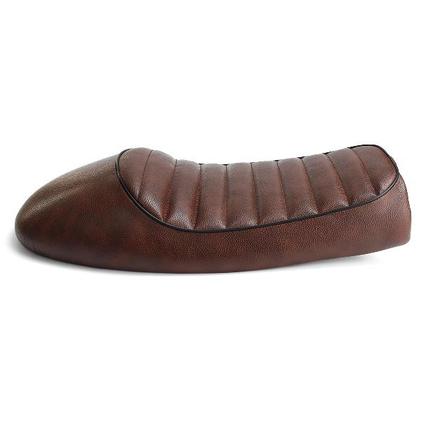 Motorcycle hump cafe racer saddle seat brown for honda-cb