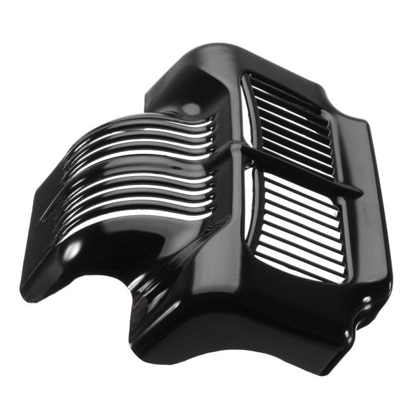 Oil cooler cover black for 2011-2015 harley touring electra