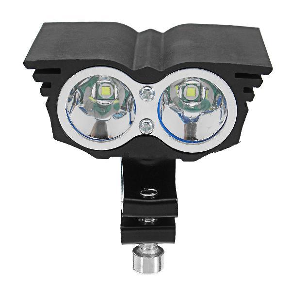 Pair 12/24v 20w 6000k eagle eye styling led spotlight