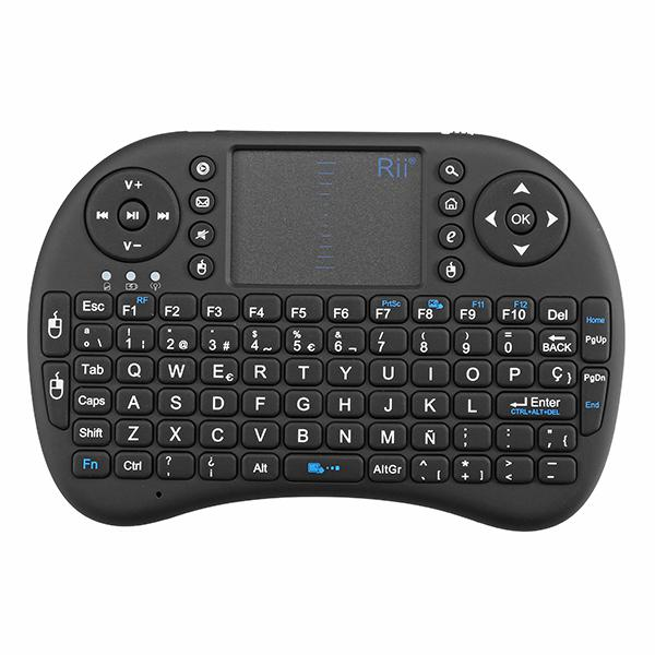 Rii i8 2.4g wireless spainish qwerty mini keyboard touchpad