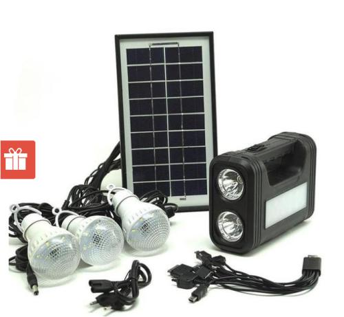 Solar lighting system gd-8017