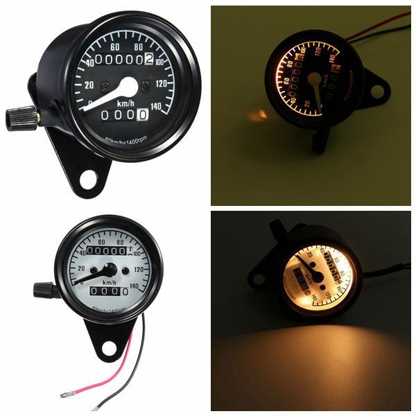 Universal rpm motorcycle mileage meter speedometer gauge