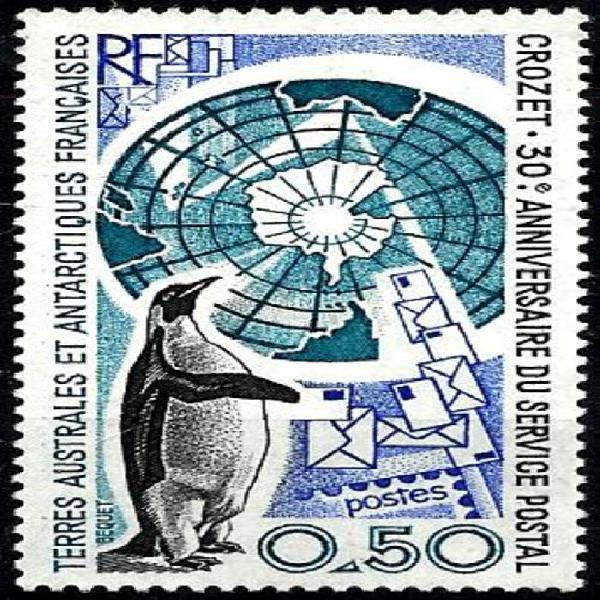 Frans antarktika / french antarctica (taaf) 1991 - pikkewyne