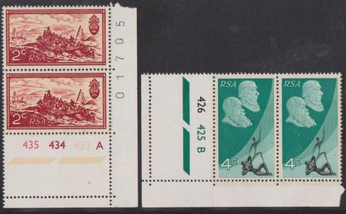 Sa 1971 - complete set of 2 control pairs of 2 cvr30.00