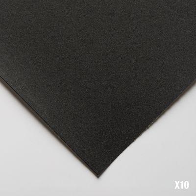 Uart dark sanded pastel paper 10 sheet pad (9x12