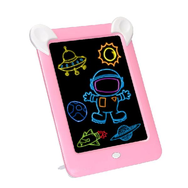 3d magic drawing board pad led writing tablet led kids adult