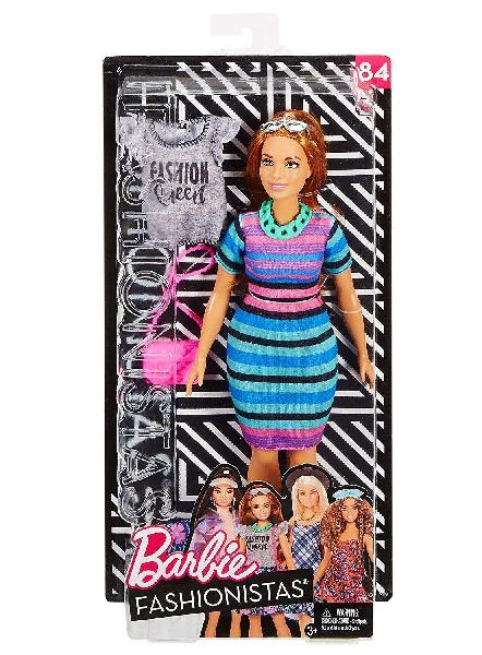 Barbie fjd06 fashionista deluxe dolls assorted