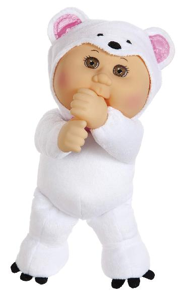 "Cabbage patch kids 9"" frost polar bear zoo cutie"
