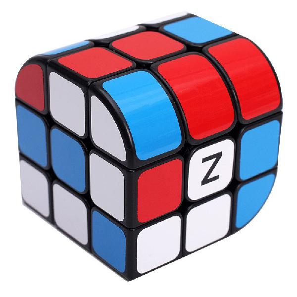Classic magic cube toys 3x3x3 pvc sticker block puzzle speed