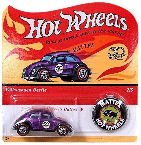 Hot wheels 2018 50th anniversary originals 2/5 - volkswagen